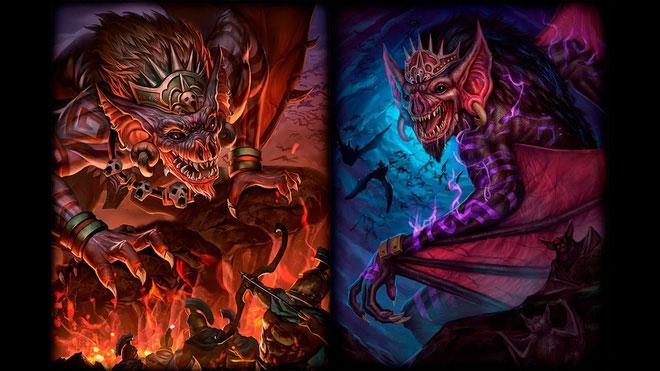 Hình ảnh truyền thuyết của Người Dơi Camazotz theo tưởng tượng của họa sĩ.