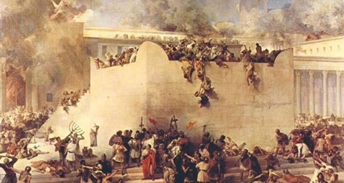 Những chiến dịch hãm thành đẫm máu trong trong lịch sử cổ đại.