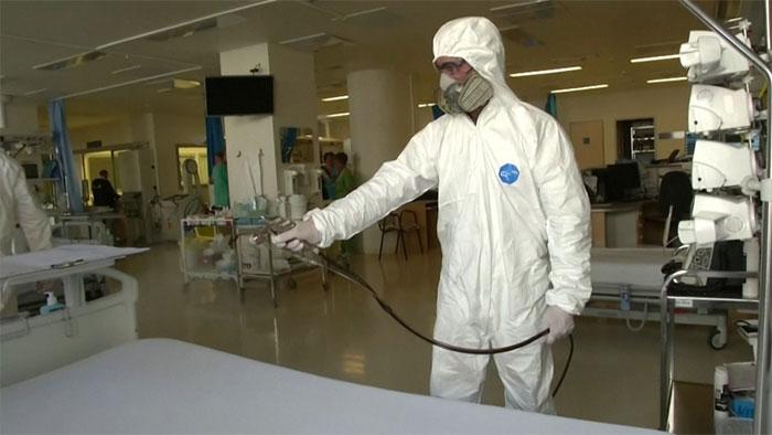 Phun thuốc xịt chống vi khuẩn