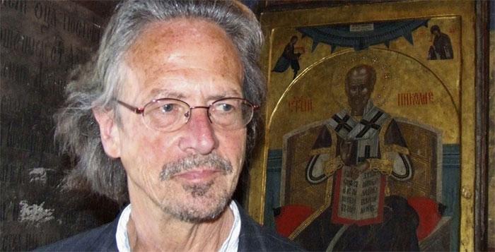 Nhà văn Áo Peter Handke.