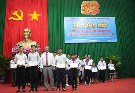 Cuộc thi Sáng tạo Thanh thiếu niên nhi đồng tỉnh Vĩnh Long năm 2019