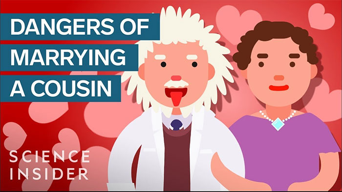 Albert Einstein kết hôn với em họ của mình.
