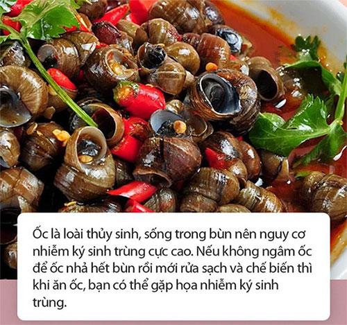 Ăn ốc thường xuyên sẽ giúp bổ sung nhiều canxi, vitamin B1, B2…