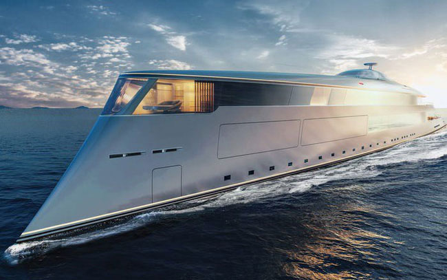 Siêu du thuyền này dự kiến sẽ chạy bằng nguyên liệu hydro lỏng và pin lỏng.