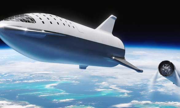 Mẫu tàu không gian Starship chinh phục sao Hỏa của SpaceX