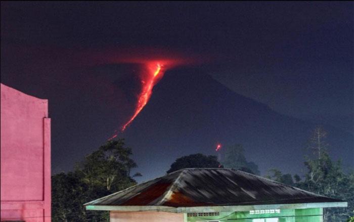 Núi lửa sinabung