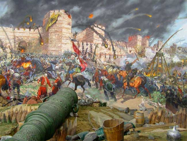 Thành Constantinople sau hơn 1.000 năm tồn tại, cuối cùng đã sụp đổ.