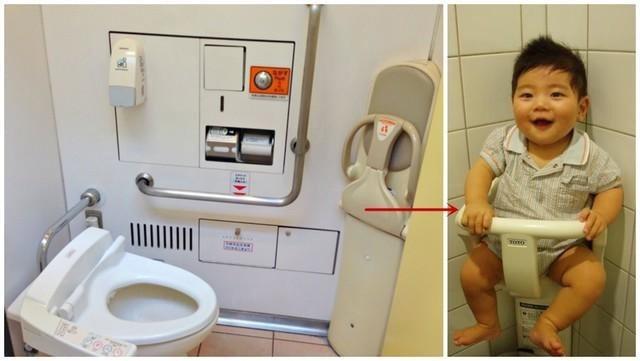 Nhà vệ sinh hỗ trợ mẹ và bé