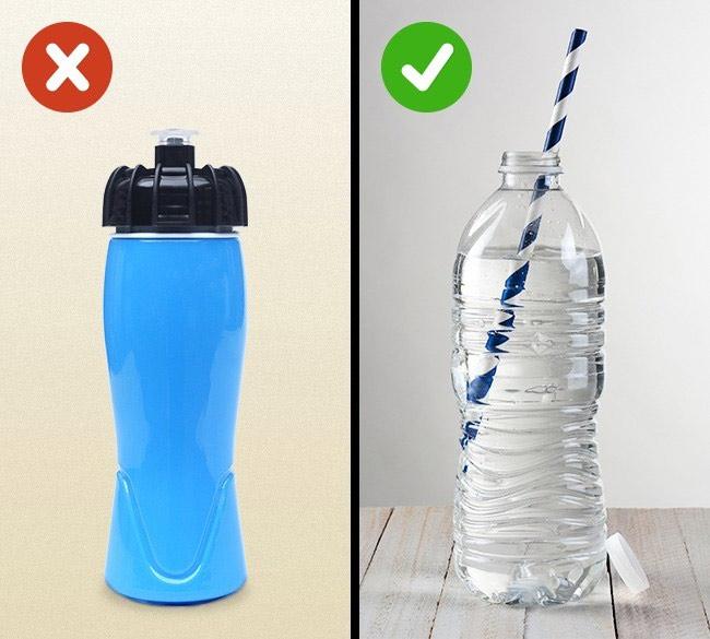 Hãy uống nước bằng ống hút, nếu nghĩ cho sức khỏe bản thân.