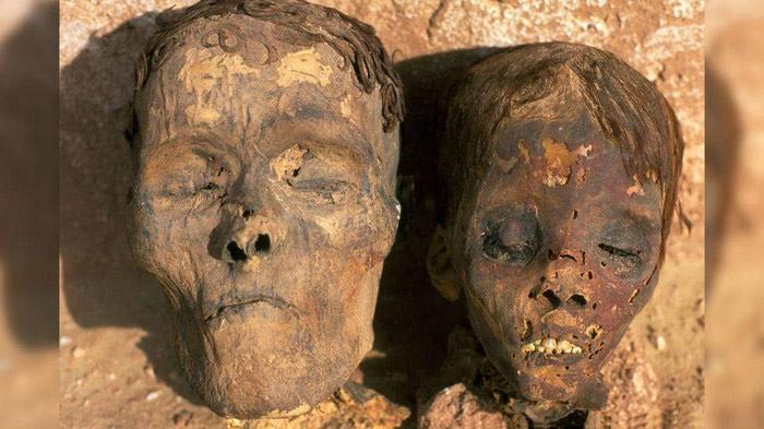 Xác ướp 4.000 tuổi