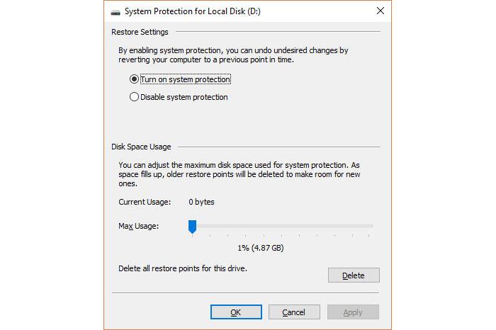 Windows's Shadow Copy đã từng được tích hợp trong các tính năng Previous Versions và System Restore.