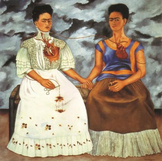 Bức tranh The Two Fridas