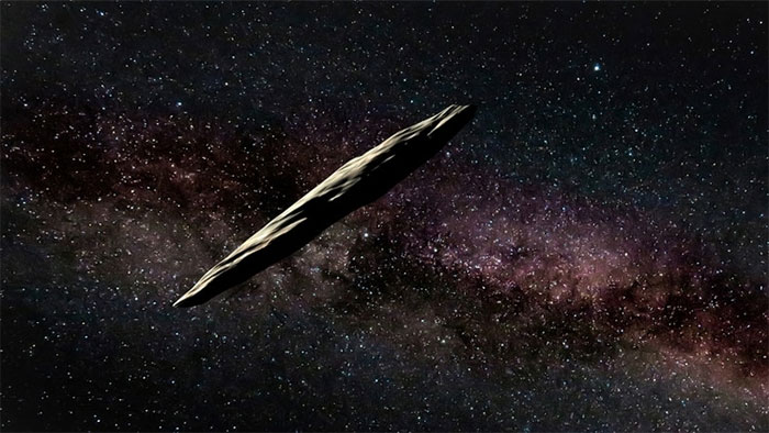 Vật thể liên sao Oumuamua.