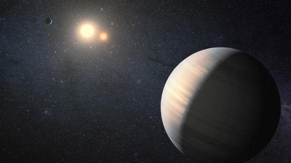"""Hành tinh to lớn Gliese 15A c, nơi có thể nhìn thấy tới 2 """"mặt trời đỏ"""""""