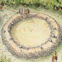 Phát hiện vòng tròn đá 4.500 năm tuổi trong rừng