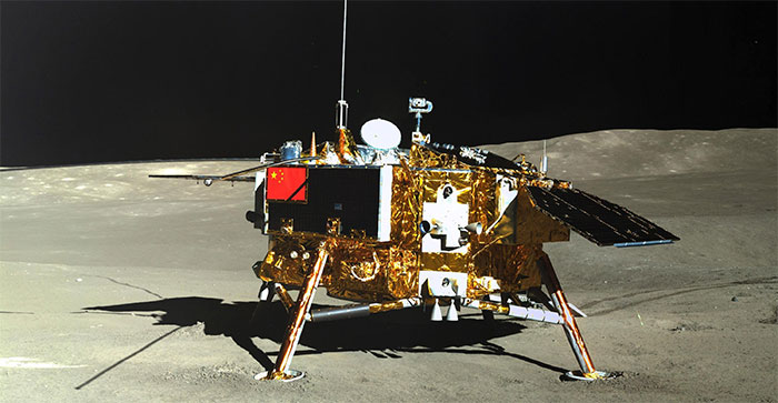 Hằng Nga-4 đáp xuống Mặt Trăng.