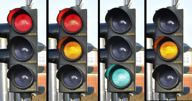 Đèn giao thông - 3 màu ý nghĩa