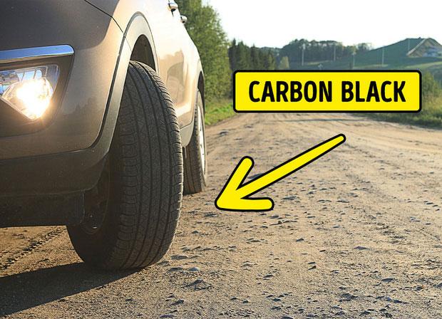 Lốp xe - luôn là màu đen