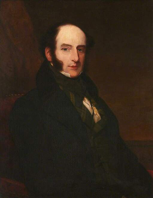 Chân dung Robert Liston (1794 - 1847), bác sĩ phẫu thuật người Scotland.