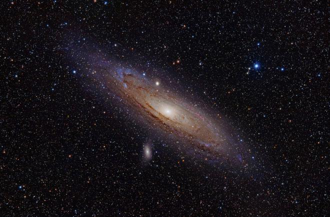 Thiên hà Andromeda.