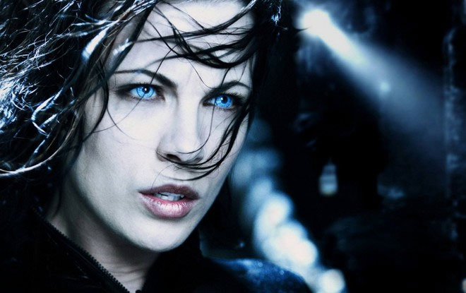 Nữ ma cà rồng do Kate Beckingsale thủ vai trong Underworld.