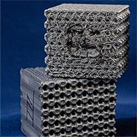 """In 3D nhựa theo cấu trúc """"tubulane"""" cực kỳ phức tạp, một khối nhựa chống được cả đạn"""