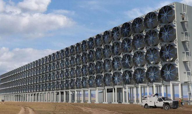 Nhà máy tái chế CO2