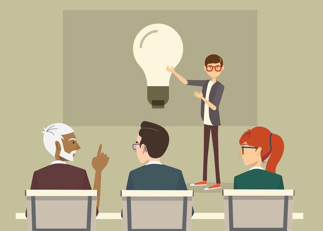 Một buổi thuyết trình cho phép bạn nhìn được cơ chế vận hành của mọi thứ.