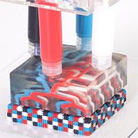 Kỹ thuật in 3D đa vật liệu tạo ra được cả robot kích hoạt sẵn