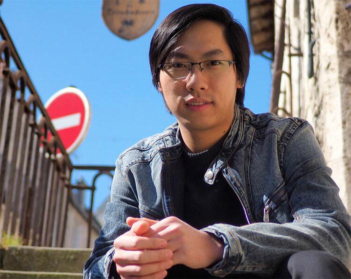 Từ chàng trai nghèo ở làng quê, Ngô Khắc Hoàng được xướng tên trên diễn đàn khoa học quốc tế.