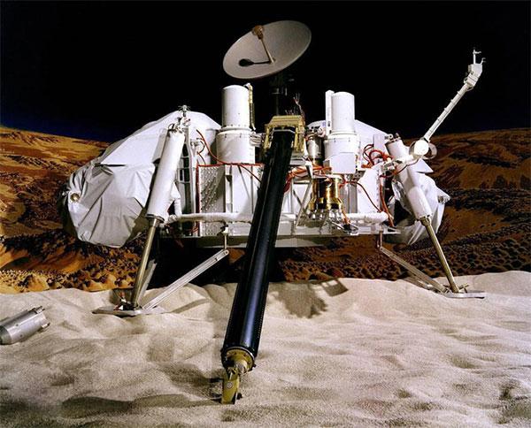 Tàu Viking được cho là đã tìm thấy sự sống trên sao Hỏa từ những năm 1970.