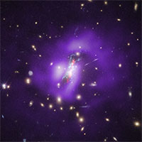Hố đen giúp tạo sao mới nhanh gấp 500 lần dải Ngân Hà