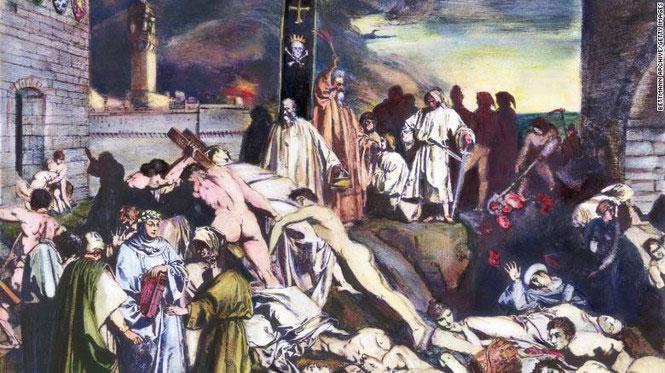 Dịch hạch tấn công thành phố Florence của Ý hồi thế kỷ 14.
