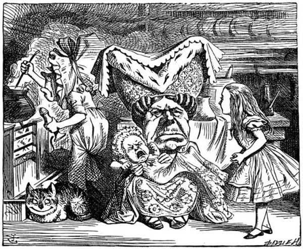 Nhân vật công tước độc ác trong truyện Cuộc phiêu lưu của Alice ở xứ sở thần tiên.