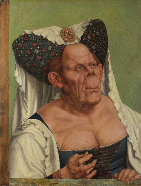 Bức tranh Nữ công tước xấu xí của hoa sĩ Flemish Quenten Matsys