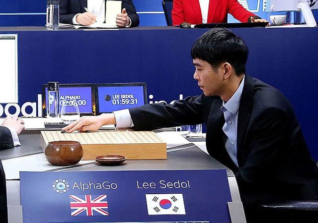 Lee Se-dol thua AlphaGo AI với tỷ số 1-4 vào năm 2016.