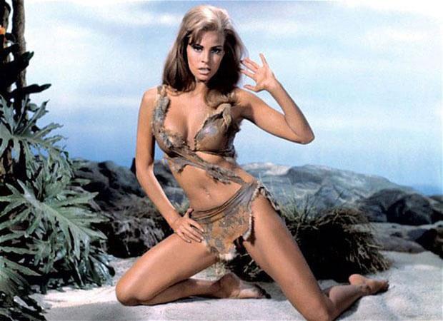 "Vai diễn của Raquel Welch trong bộ phim ""One Million Years B.C""."