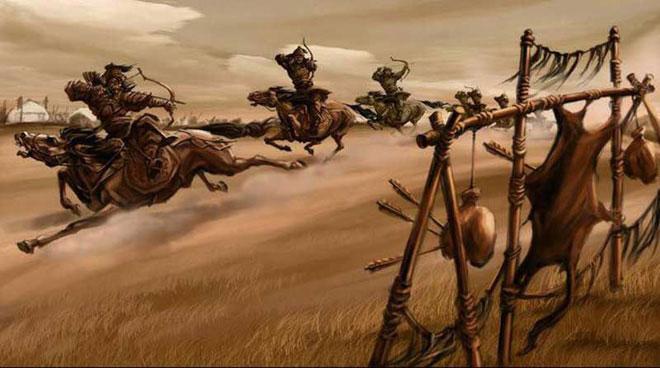 Quá trình tìm kiếm cổ vật thời Thành Cát Tư Hãn vẫn đang được tiến hành ráo riết.