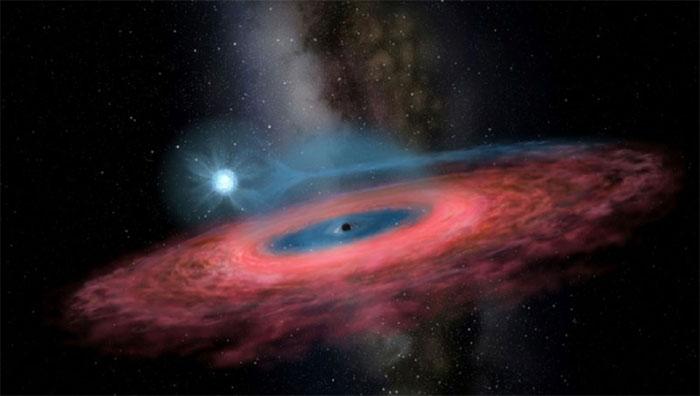 Theo tạp chí Nature, hố đen LB-1 nằm cách Trái Đất 15.000 năm ánh sáng và có khối lượng gấp 70 lần Mặt Trời.