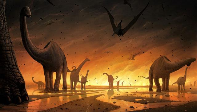 Sự tuyệt diệt của khủng long