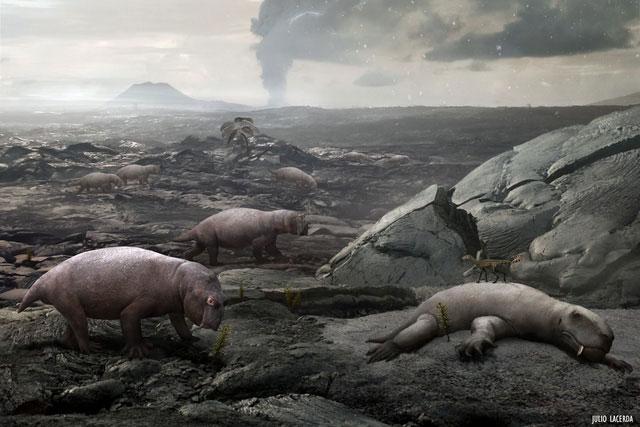 Sự kiện đại tuyệt chủng kỷ Permi - kỷ Trias