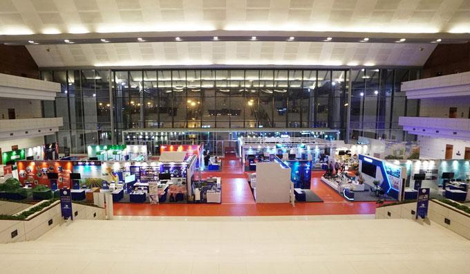 """Triển lãm """"Ứng dụng khoa học, công nghệ trong doanh nghiệp"""" tại Trung tâm Hội nghị Quốc gia (Hà Nội)"""