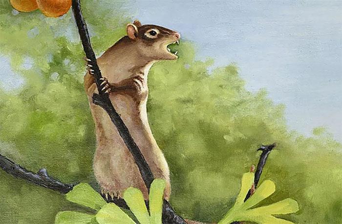 Hình ảnh mô tả loài chuột cổ đại.