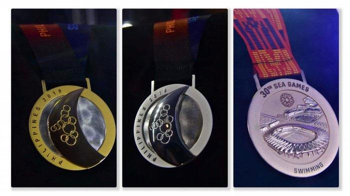 Ba tấm huy chương Vàng, Bạc và Đồng danh giá tại SEA Games 30.