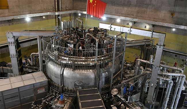 Lò phản ứng nhiệt hạch HL-2M của Trung Quốc sẽ đi vào hoạt động năm sau.