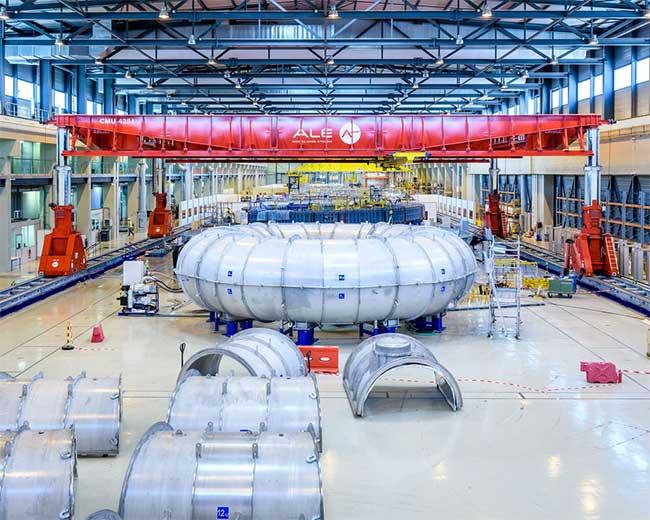 Những vòng xuyến với chu vi tới 900m của dự án lò phản ứng nhiệt hạch ITER.