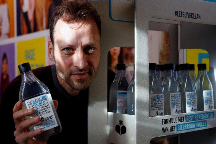 Nước rửa chén làm từ cồn sau sản xuất bia