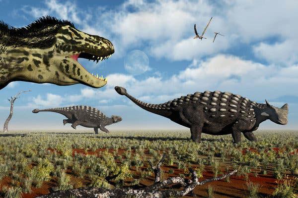 Qua quá trình tiến hóa kéo dài tới hàng triệu năm, các loài động vật to lớn dần trở nên hoàn thiện