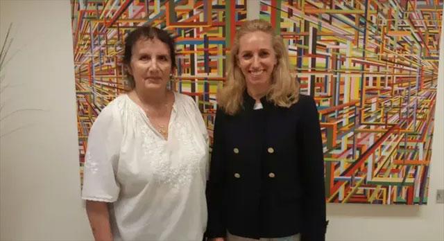 Giáo sư Malka Cohen-Armon và tiến sĩ Talia Golan.