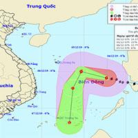 Bão Kammuri đi vào biển Đông, trở thành cơn bão thứ 7 trong năm nay